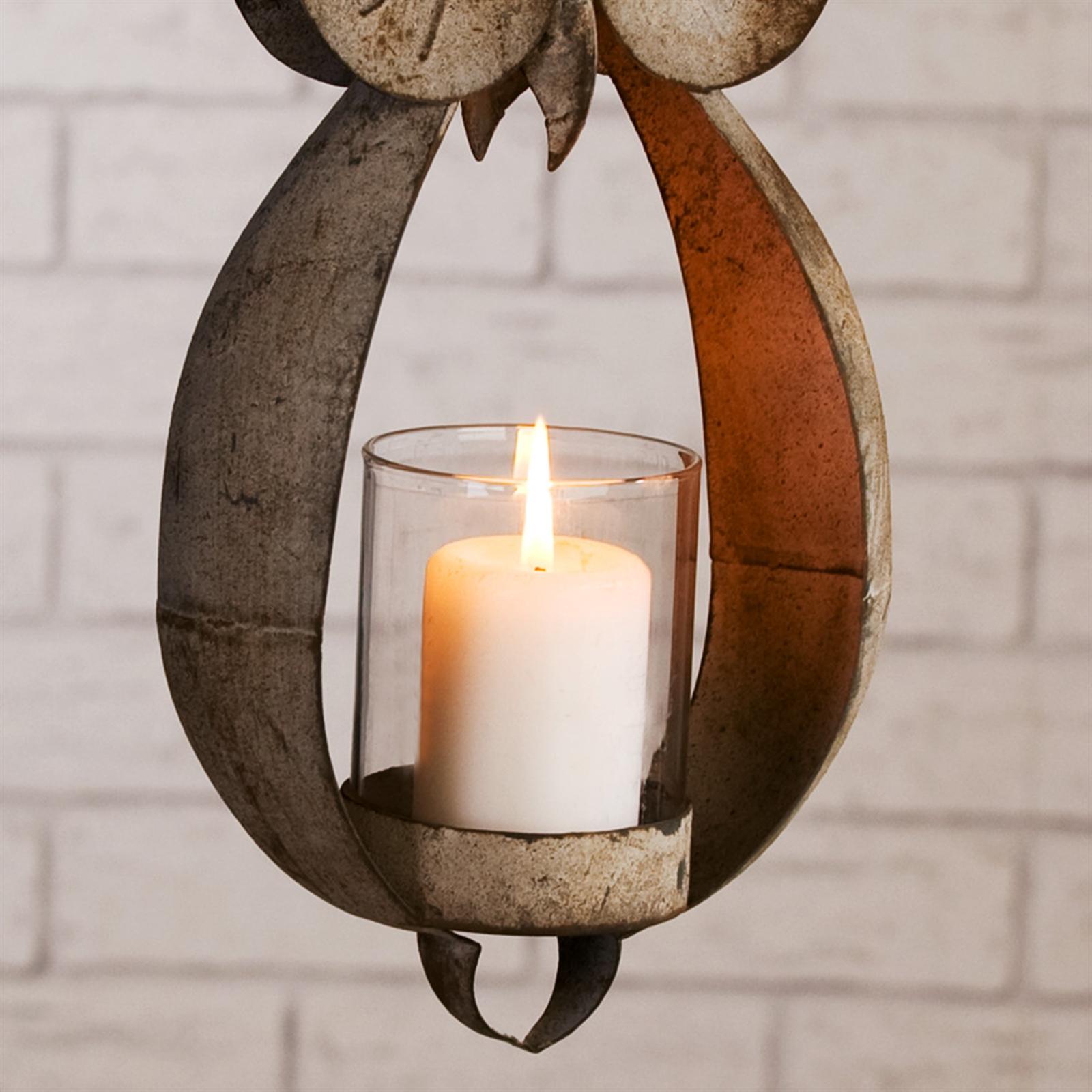 antik design windlicht laterne eule eddy metall f r teelichter zum aufh ngen ebay. Black Bedroom Furniture Sets. Home Design Ideas