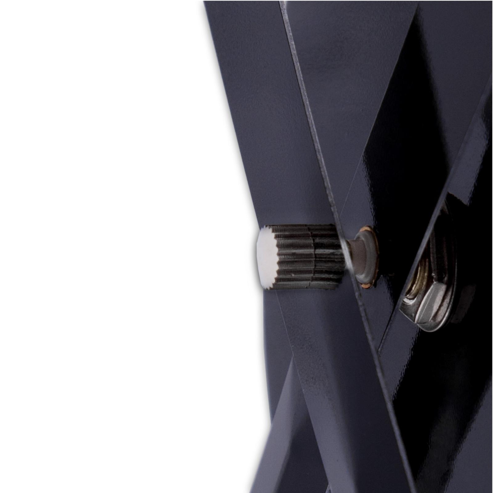 gro e wanduhr big time uhrwerk schwarz 80 cm. Black Bedroom Furniture Sets. Home Design Ideas