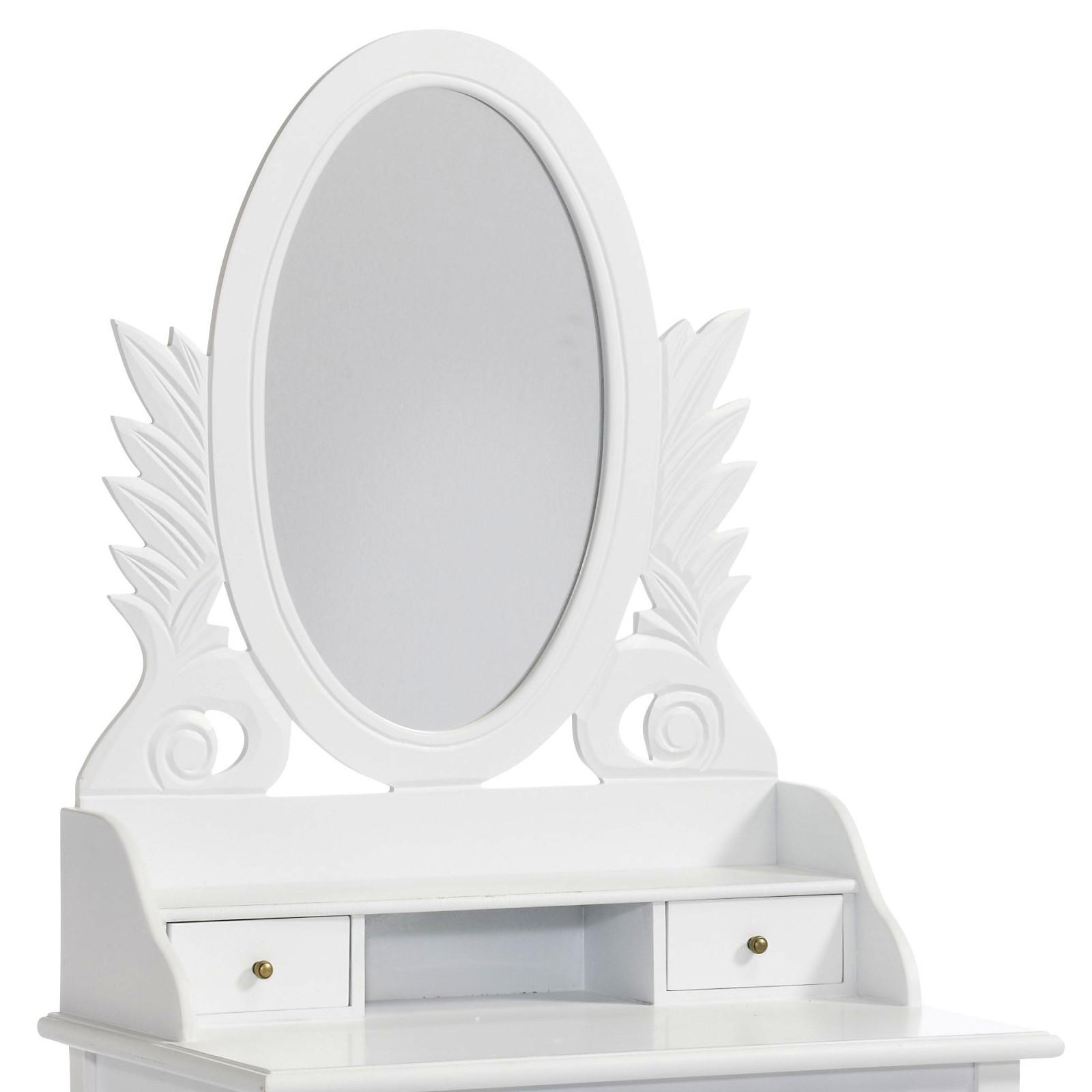 vintage design schminktisch marilyn wei tisch konsole mit. Black Bedroom Furniture Sets. Home Design Ideas
