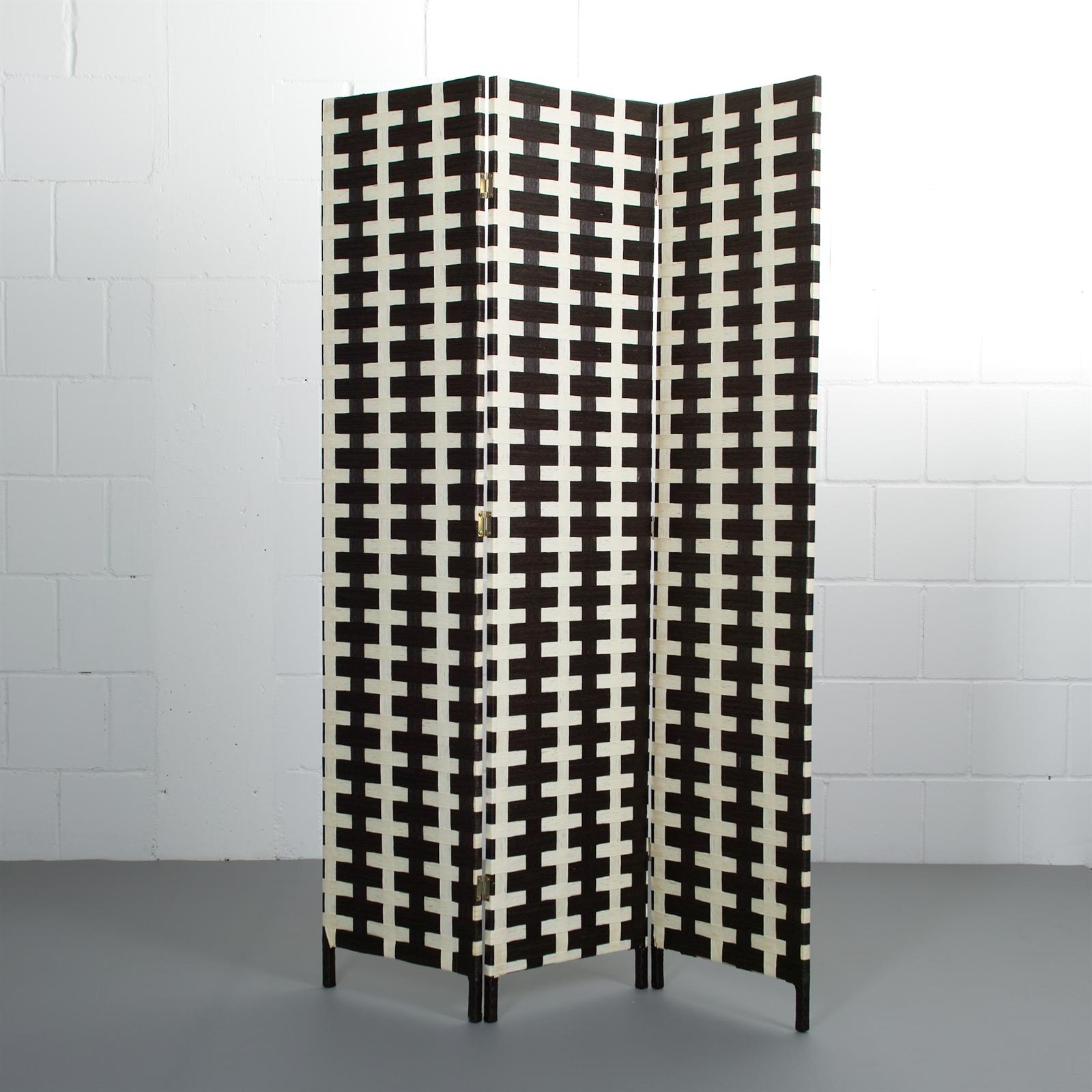 design raumteiler fascia 3teiliger paravent aus bast. Black Bedroom Furniture Sets. Home Design Ideas