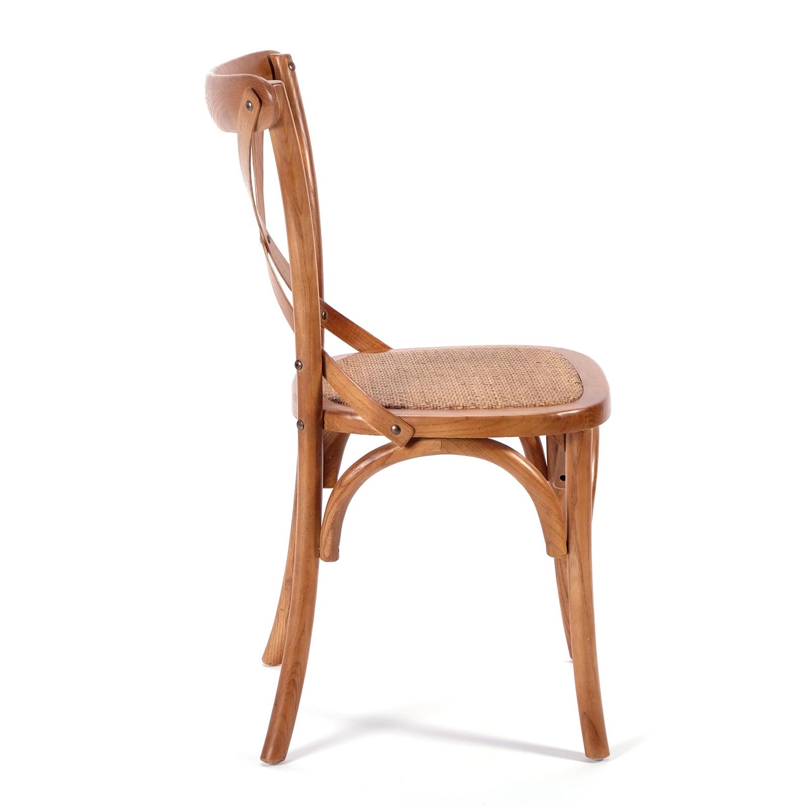 design esszimmerstuhl kolonial holz dunkelbraun rattan holzstuhl ebay. Black Bedroom Furniture Sets. Home Design Ideas