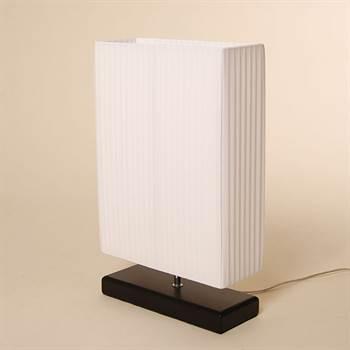 coole design plissee nachttischlampe xtradefactory. Black Bedroom Furniture Sets. Home Design Ideas