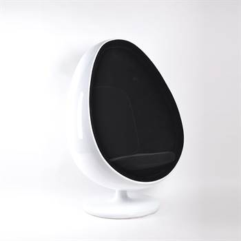 "Retro pod egg chair ""ODYSSEY "" with swivel for modern or 70s"
