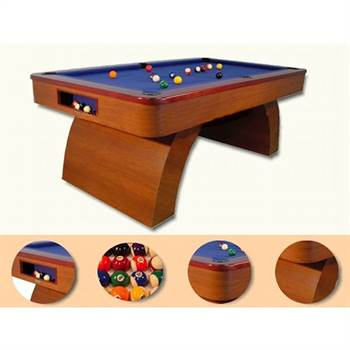 "Design pooltable ""VALENCIA"" lounge pool billard table snooker"