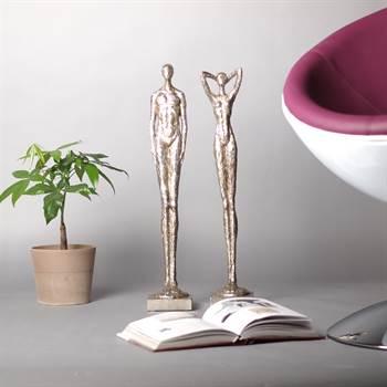 exklusive skulptur millenium silber bei xtradefactory kaufen. Black Bedroom Furniture Sets. Home Design Ideas