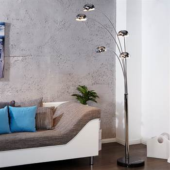 DESIGN LOUNGE FLOORLAMP FIVE FINGERS