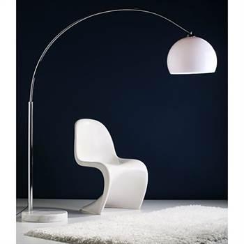 "Kare Design Stehlampe ""BIG BOW"" Retro dimmbar weiß"