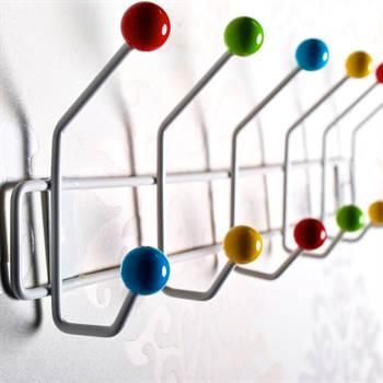 Wandgarderobe Colour Ball ALT