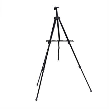 """Aluminium sketch easel """"MUNCH"""" portable for stretched artist canvas"""