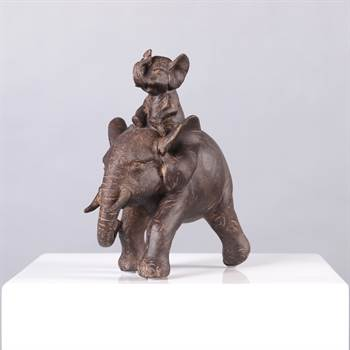 "Design decoration elephant ""AFRICA"" figure pachyderm"