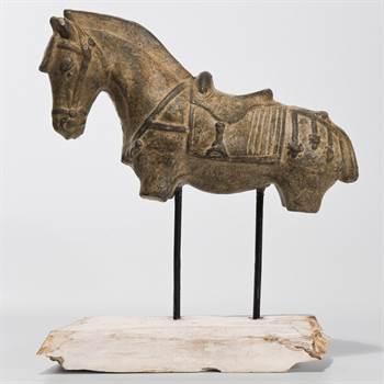 "Design Deko Pferd ""CAVALLO"" Torso Skulptur Pferdefigur"