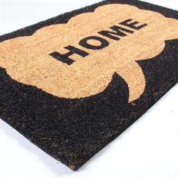 """Riesige Fußmatte """"HOME"""" 100 % Kokos Fußabtreter"""