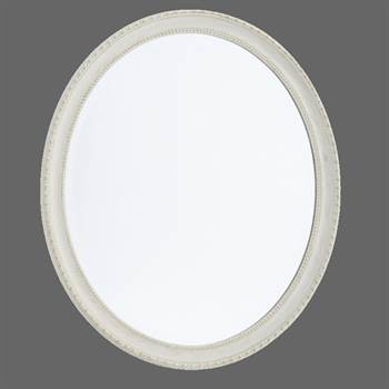 """Ovaler Barock Rahmen Spiegel """"PHILIPPE"""" Jugendstil antik"""