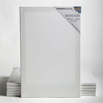6 PREMIUM Leinwände auf Keilrahmen 25x135 cm Künstler Leinwand