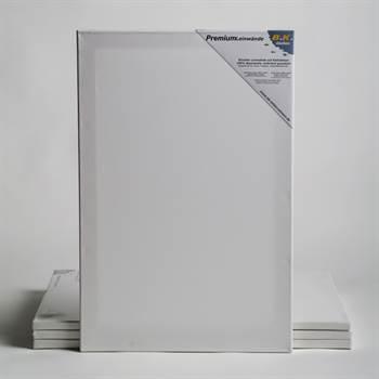 4 PREMIUM Leinwände auf Keilrahmen 60x80 cm Künstler Leinwand