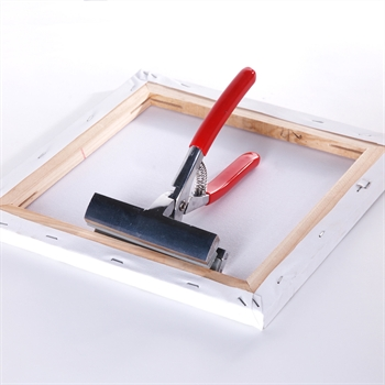 """Automatic """"CANVAS WELDING TONG"""" chuck collet for stretched canvases"""