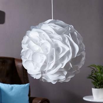 ausgefallene h ngeleuchte dahlia wei xtf24 online shop. Black Bedroom Furniture Sets. Home Design Ideas