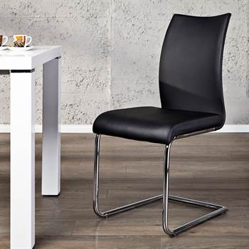 "Elegant cantilever chair ""BALANCED"" for office dining room or kitchen"