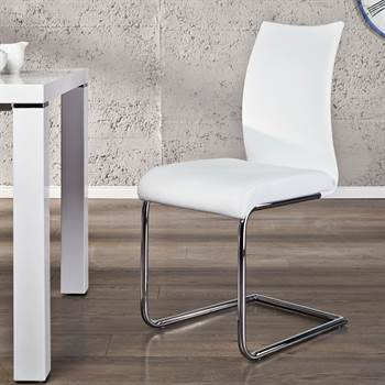 """Elegant cantilever chair """"BALANCED"""" for office dining room or kitchen"""