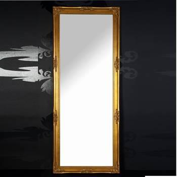 """Großer Wandspiegel """"ALESSANDRO"""" Barock Ankleidespiegel gold 185 cm"""
