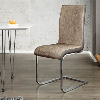 "ELEGANT CANTILEVER CHAIR ""CONTRASTO"" dining room chair kitchen chair"