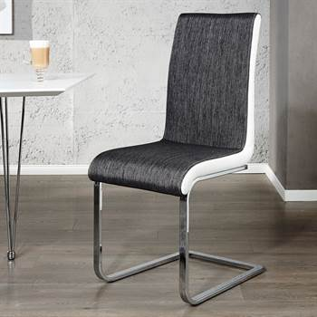 """ELEGANT CANTILEVER CHAIR """"CONTRASTO"""" dining room chair kitchen chair"""