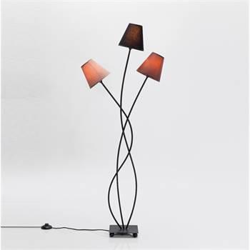 """Einzigartige Lounge Stehlampe """"TRIO GRANDE"""" dreiflammig 130 cm"""