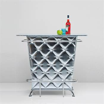 "edle minibar theke ""celebrity silver"" - xtf24 online-shop"
