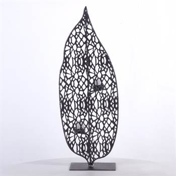 """Teelichthalter """"STRUCTURA L"""" Kerzenhalter 60 cm"""
