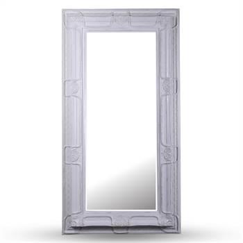 """Prunkvoller Barock Facettenspiegel """"HELENA"""" 99 x 189 cm Antik-Look"""