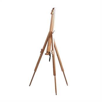 """Tragbare Feldstaffelei """"MAGNUS"""" aus Holz für Keilrahmen bis 100cm"""