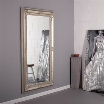 "Barock Facettenspiegel ""AGATHA"" mit Rahmen 103x178cm antik"