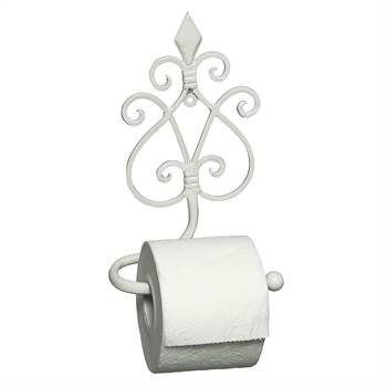 "Nostalgic toilet roll holder ""ANTICO"" antique-white"