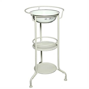 "Nostalgic wash bowl ""LAVADO"" washing stand 33.4"" beige"