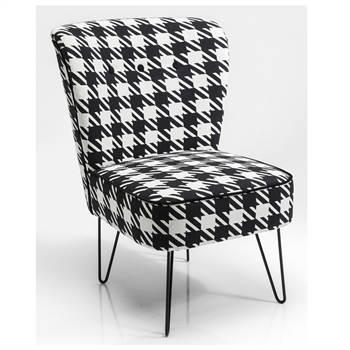 Vintage Sessel Im Angesagten Pepita Design Xtradefactory