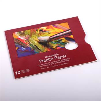 MISCHPALETTE BLOCK |  25 x 30 cm, 10 Seiten, 250 gsm | Farbpalette