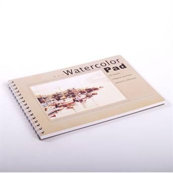 Malblock DIN A4 | 24 Blätter, 190gsm | Aquarellblock, Zeichenblock