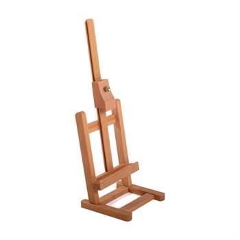 "Tisch Staffelei ""KREATIV"" | 42 cm, Ulmenholz, höhenverstellbar"