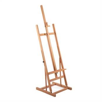"Wooden studio easel ""CÉZANNE"" | beech wood, adjustable up to 89"""
