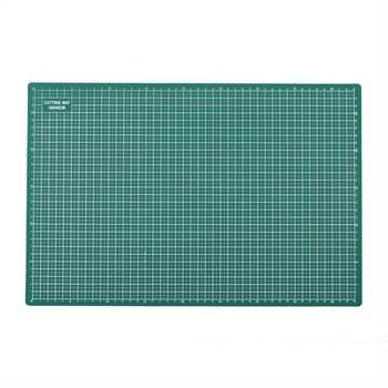 Selbstheilende Schneidematte | grün, PVC, A3, 2 mm | Schneideunterlage