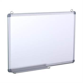 B-Ware Whiteboard | 40x60 cm | magnetisch, mit Kratzern im Alurahmen