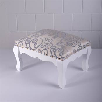 "Low stool ""BAROQUE"" 