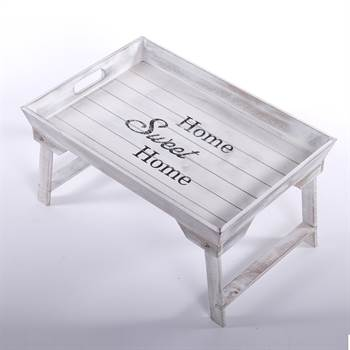 "Wooden tray ""HOME SWEET HOME"" 