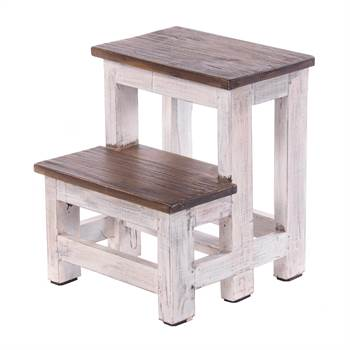 "Ladder ""STEP"" | 46x37 cm (HxW), recycled wood | stepladder"