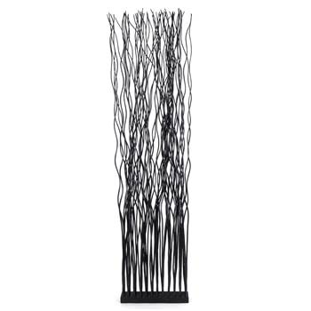 """Room divider """"WAVE""""   willow wood, 170x44 cm (HxW)   paravent"""
