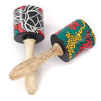 "Rumba rattle set ""CABANA"" 