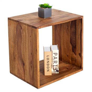 "Wooden shelf ""SHEESHAM"" | 17.5"", handmade, solid wood | rack"