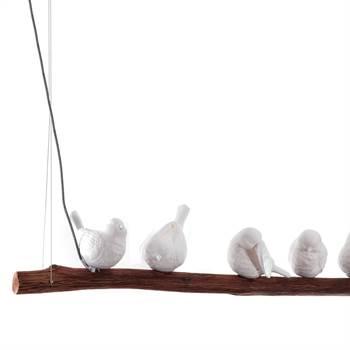 "Hanging lamp ""DINING BIRDS"" | Kare Design 38804 | 47"" | pendant"