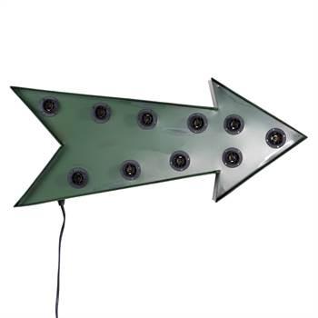 "Leuchtobjekt ""ARROW"" | Kare Design 35189 | Pfeil Wandlampe"
