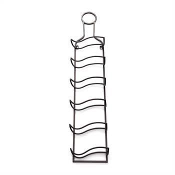 """Weinregal """"BOTTLE""""   Kare Design 80773   Wandregal für 6 Flaschen"""